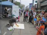 Live Painting at the Chinatown Festival 2014, w. TCCSA